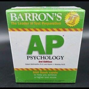 Barron's AP Psychology 3rd Edition Flashcards stud